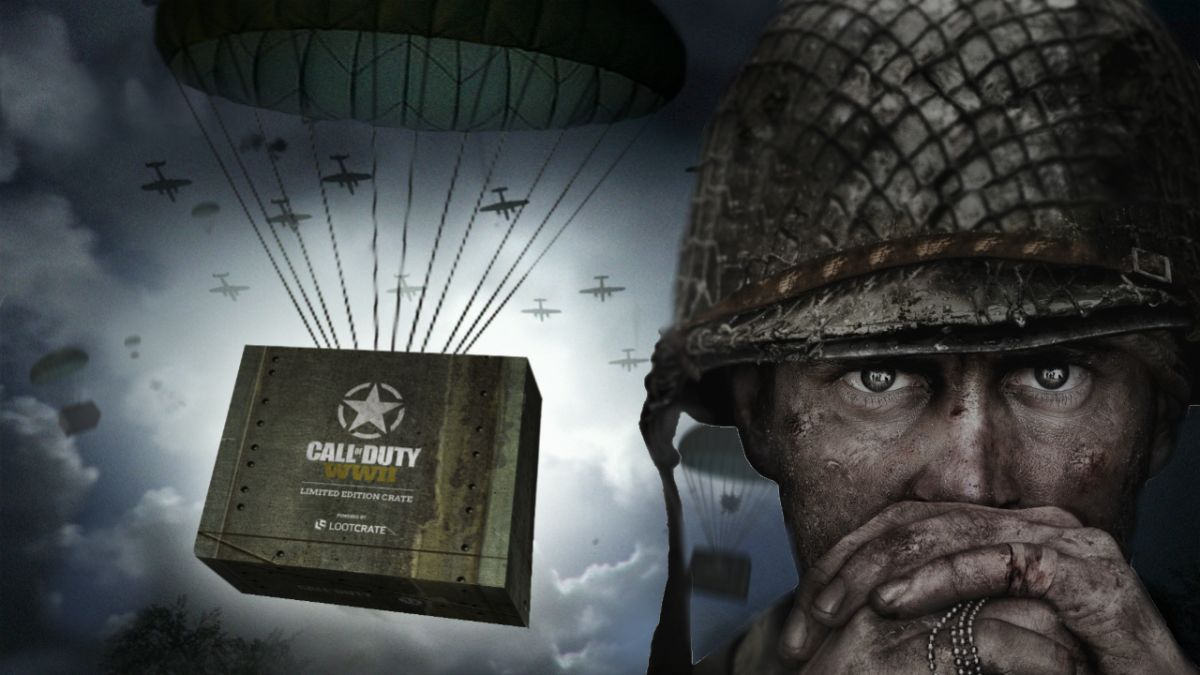 A limited edition Call of Duty: WW2 Loot Crate is coming in time for Christmas, but what will be in it?