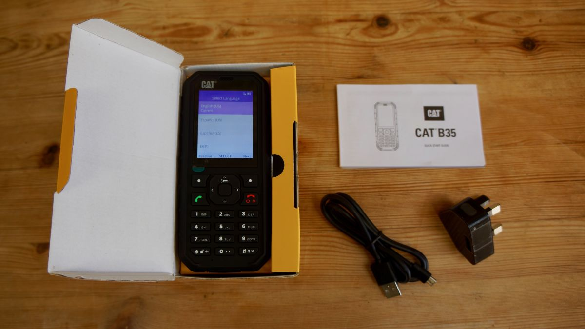Cat B35 Review Review Techradar
