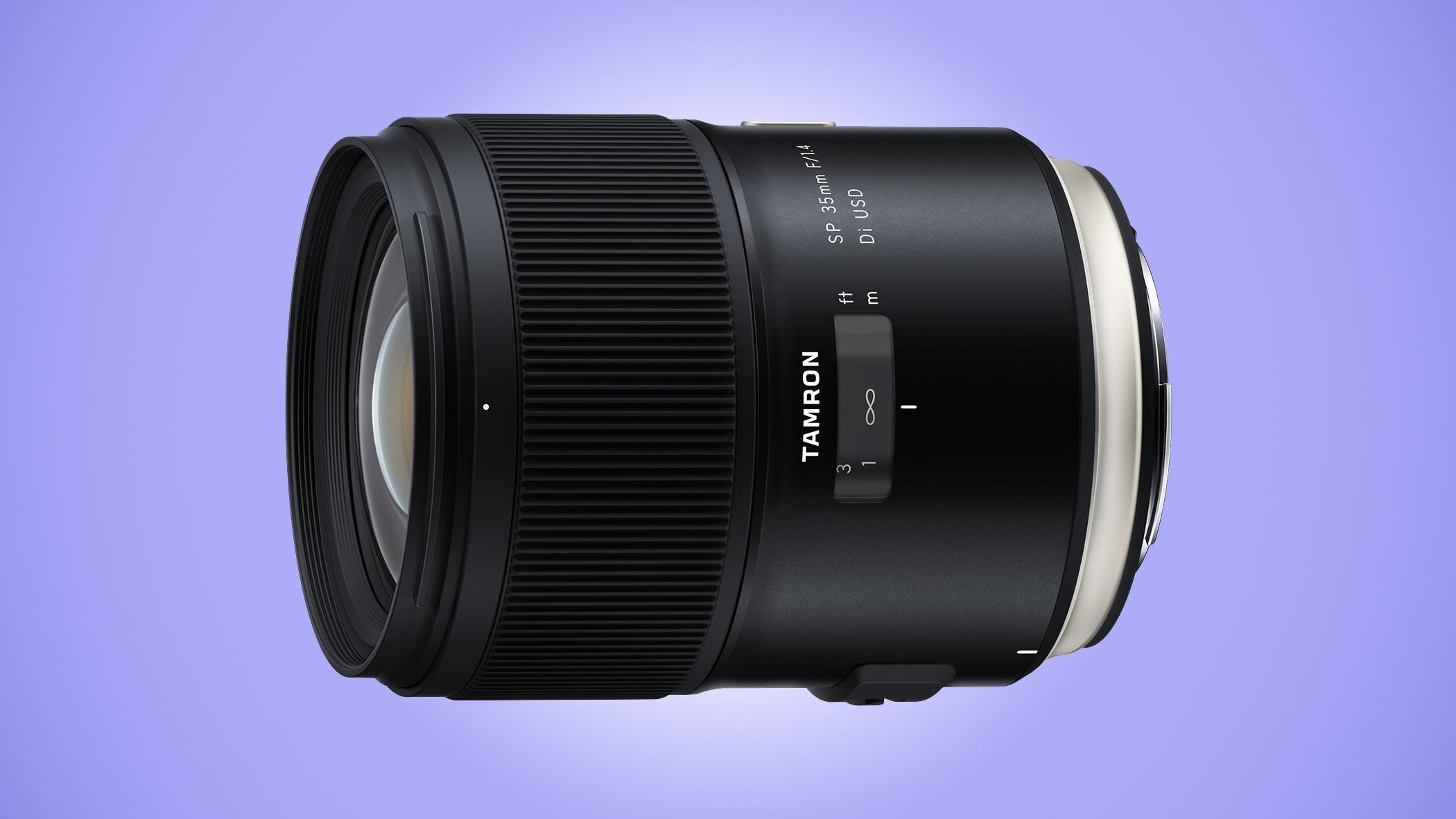 Tamron makes its SP 35mm f/1.4 Di USD official