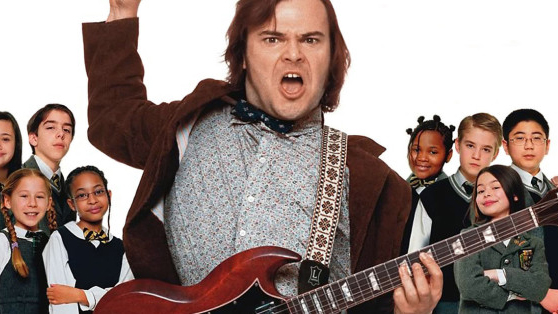 A promo shot for the movie School of Rock
