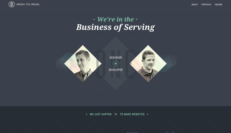 """Attēlu rezultāti vaicājumam """"Iron to Iron Kevin Richardson website creativebloq.com"""""""