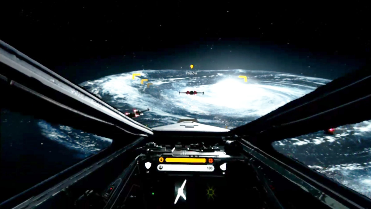 Star Wars Battlefront X-Wing VR Mission