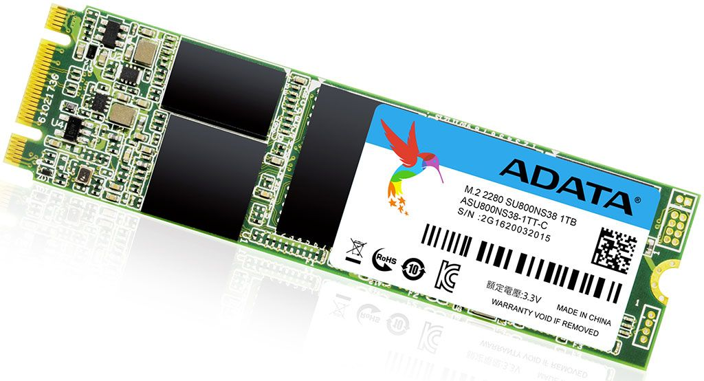 Adata launches gumstick sized M.2 2280 version of its