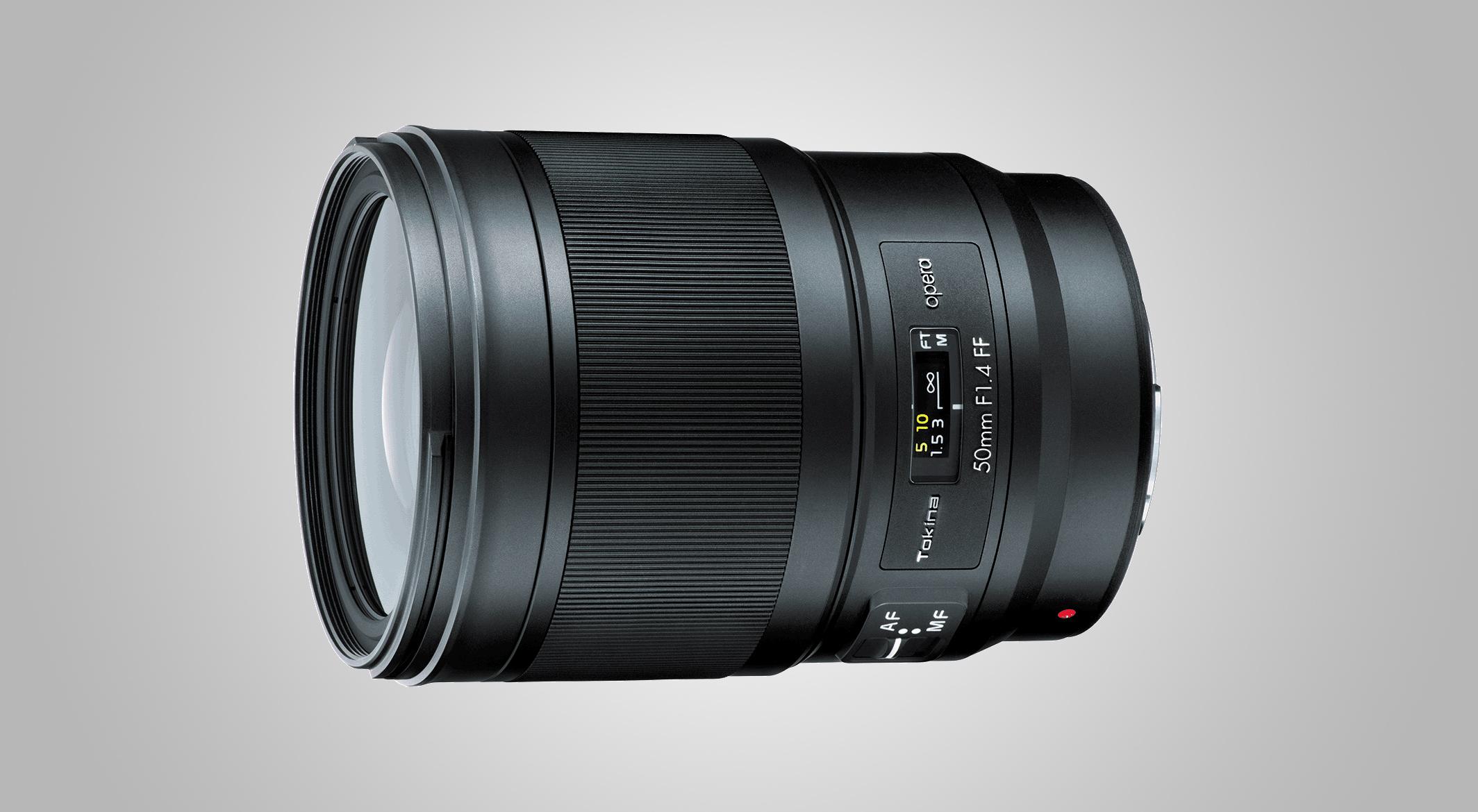 Tokina announces premium 50mm f/1.4 standard prime