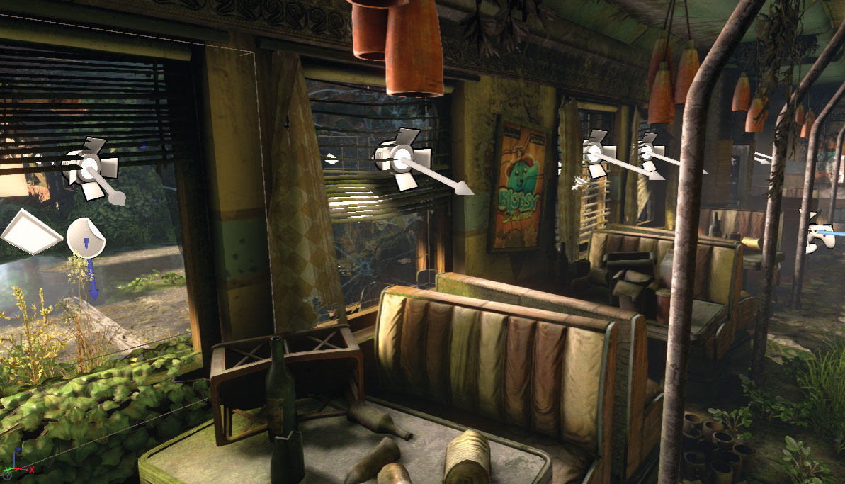 Create a game environment in Unreal Engine 4 - Graphic Design
