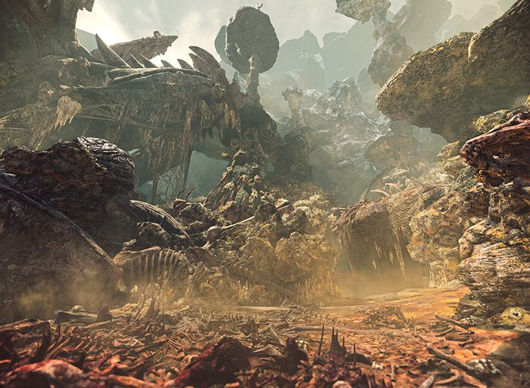 Monster Hunter: World showcases toxic Rotten Vale swampland