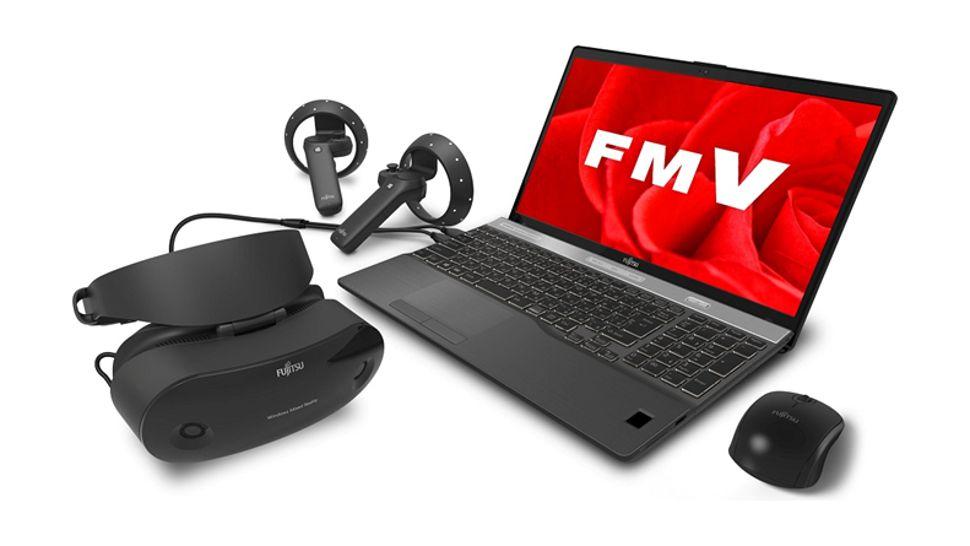 Fujitsu reveals Windows Mixed Reality headset as Fall Creators Update rollout begins