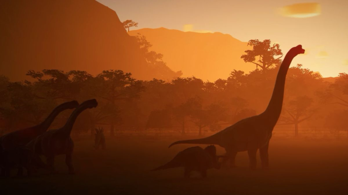 First Jurassic World Evolution in-game footage plus details of theme park disasters