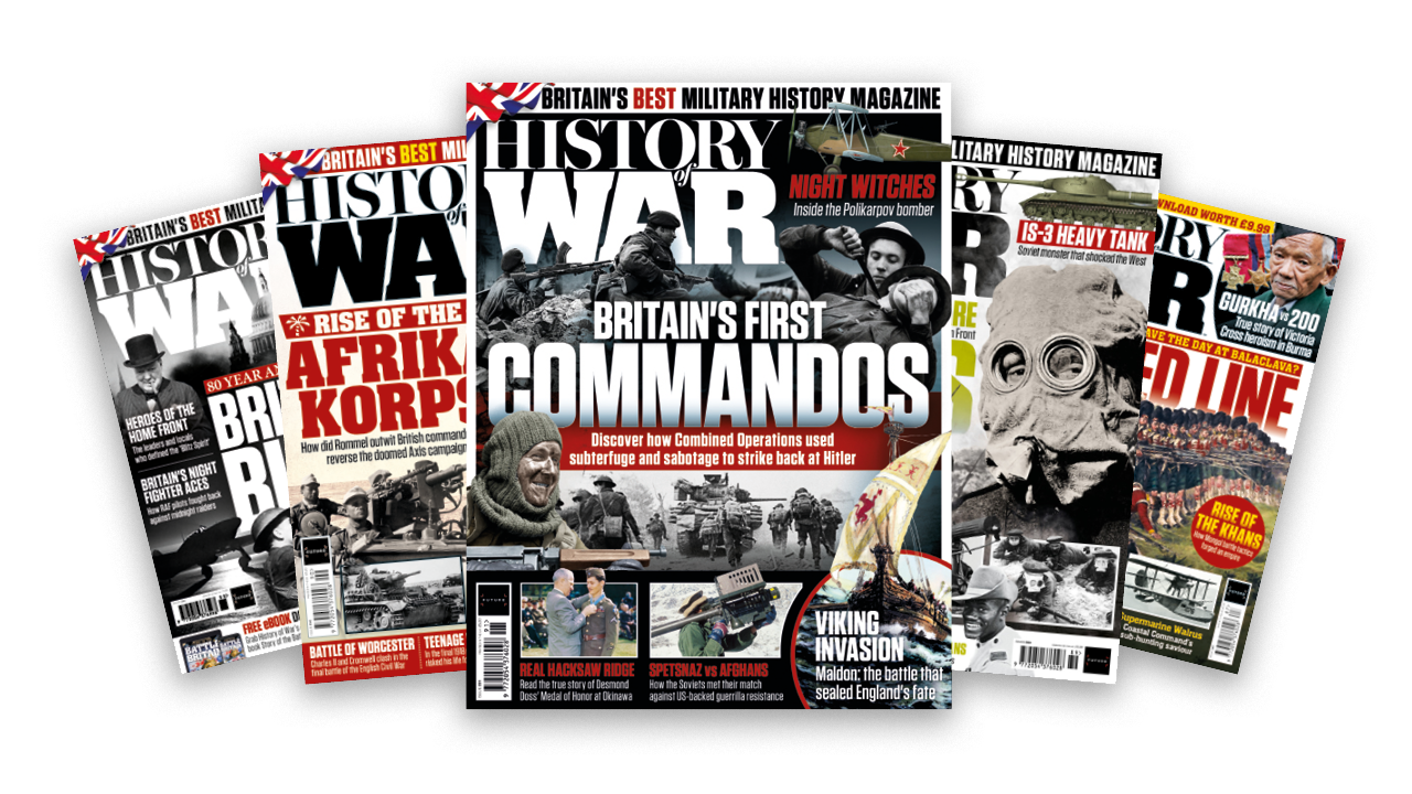 Read a complimentary dilemma of History of War magazine thumbnail