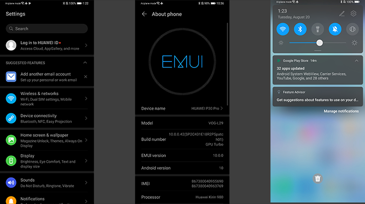 UXuBZFKUhB52Y9nbYKx6sa - EMUI 10 based on Android Q offers a glimpse at what is coming next to HUAWEI P30 series