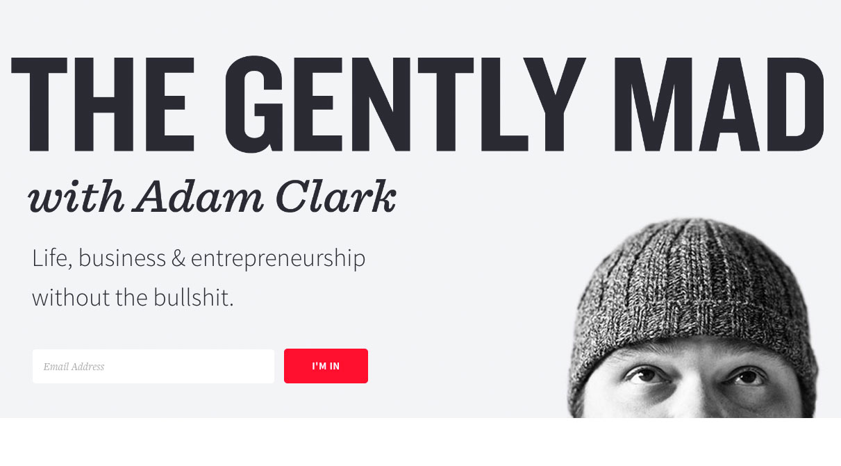 Web design podcasts: The Gently Mad