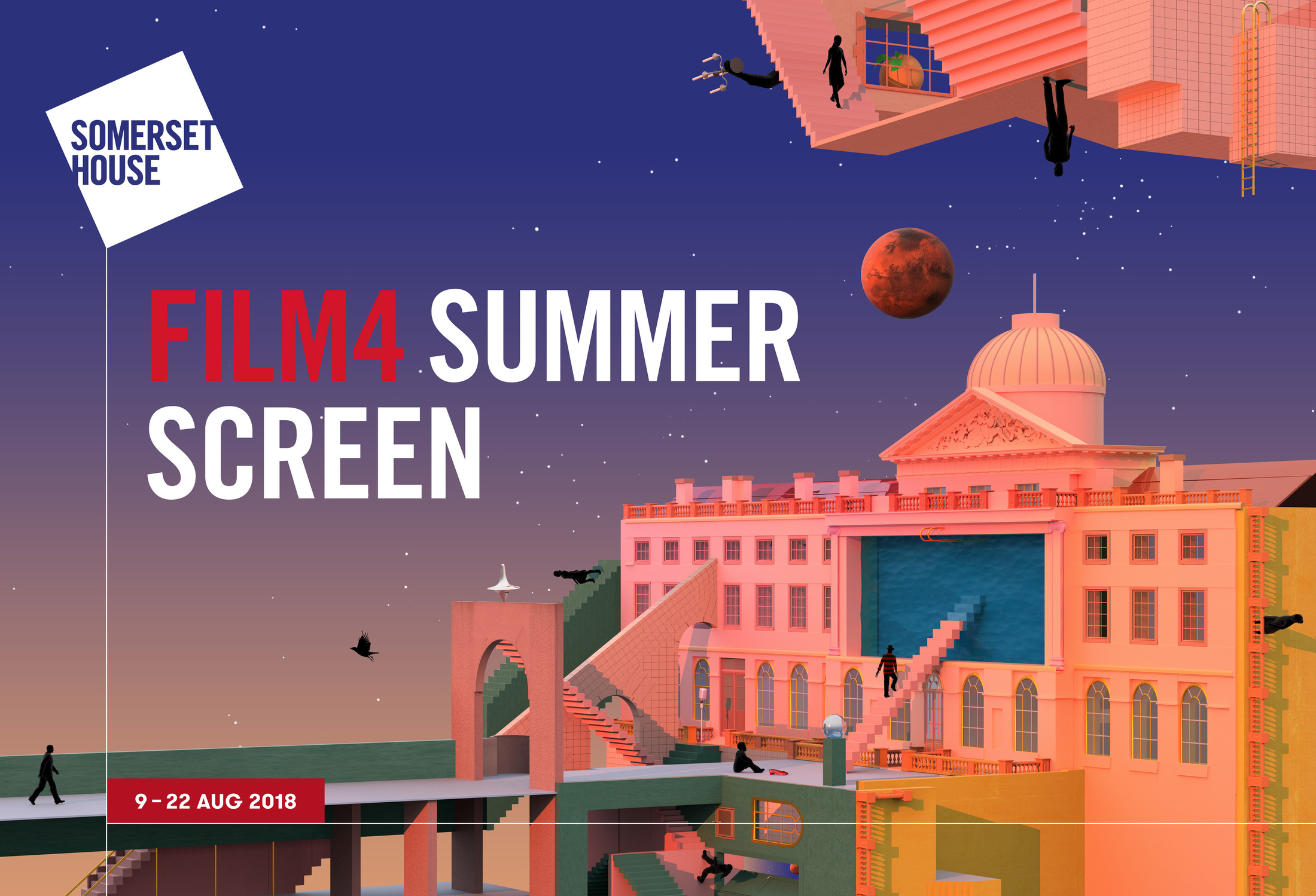 Film 4 Summer Screen 2018 by Supple Studio