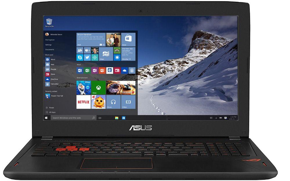 asus rog strix 15 6 inch gtx 1070 gaming laptop is on sale for 1 400 pc gamer. Black Bedroom Furniture Sets. Home Design Ideas