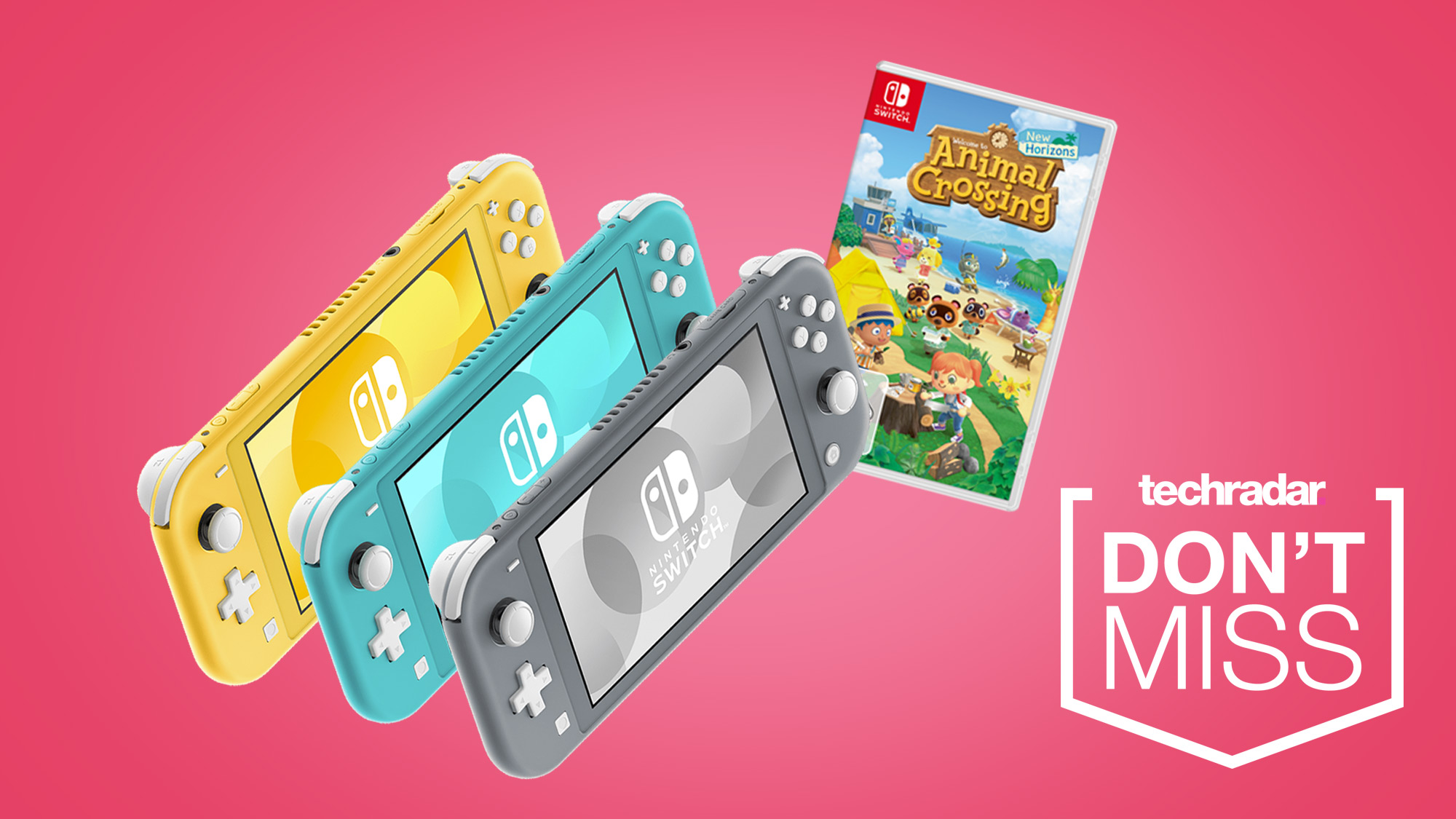 Nintendo Switch Lite deals return with stock available on Animal Crossing: New Horizons bundles
