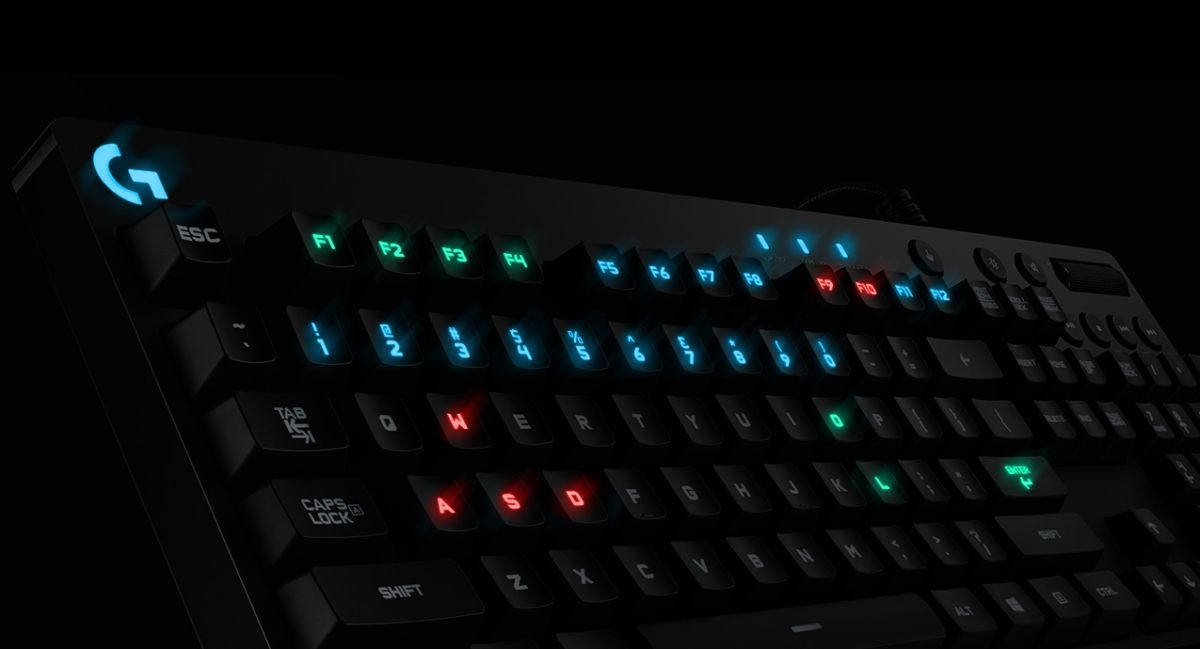 Light Up Your Gaming Life With The G810 Orion Spectrum
