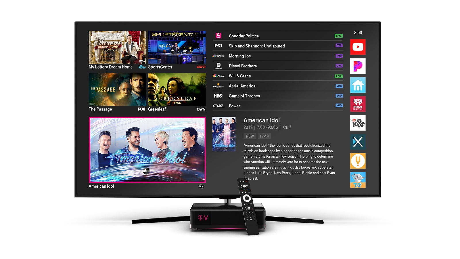 T-Mobile relaunches its laughably expensive IPTV service 3