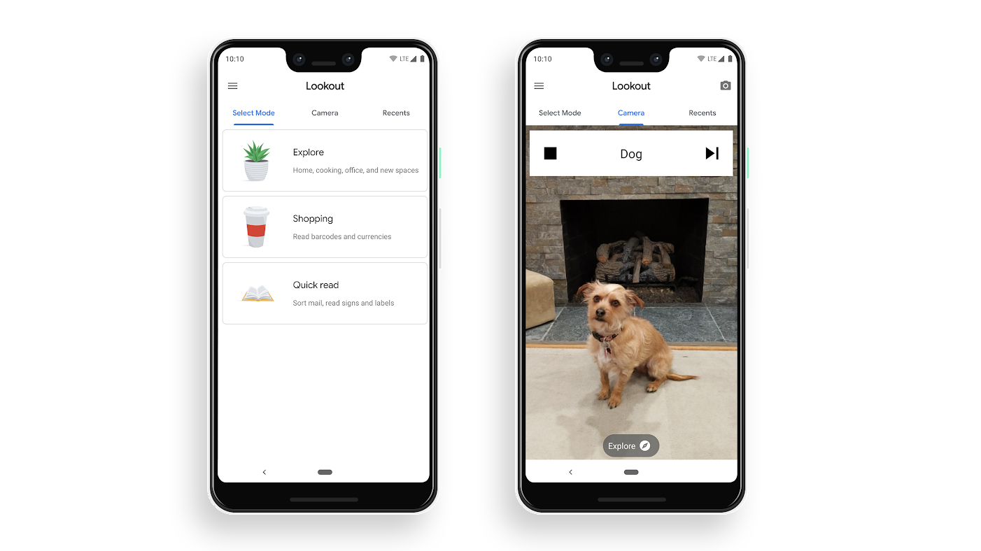 Google Lookout describes surroundings to visually impaired users using AI