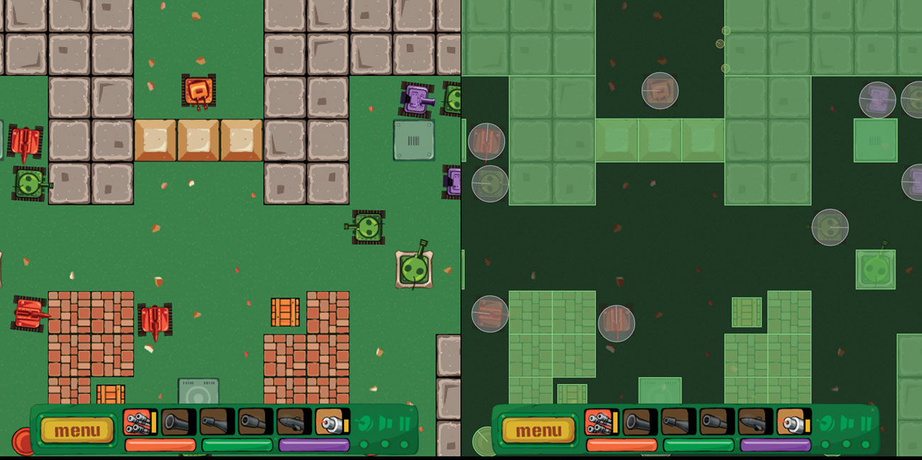 Convert Flash games to HTML5: Phaser physics debug