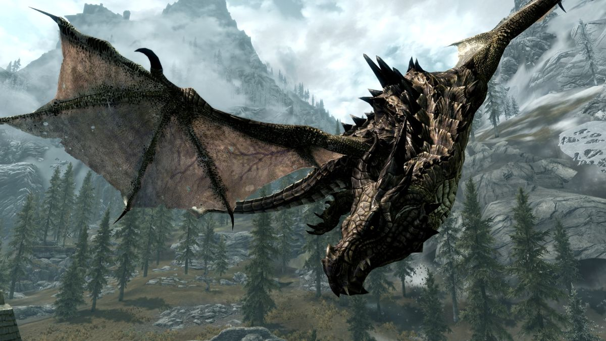 Skyrim Dragon: How Skyrim's Magnificent Dragons Were Created (and Why