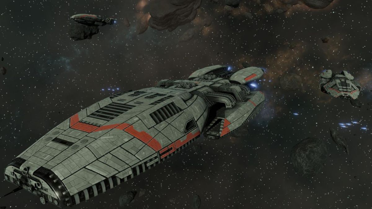 Battlestar Galactica: Deadlock frames disaster management with tactical space combat