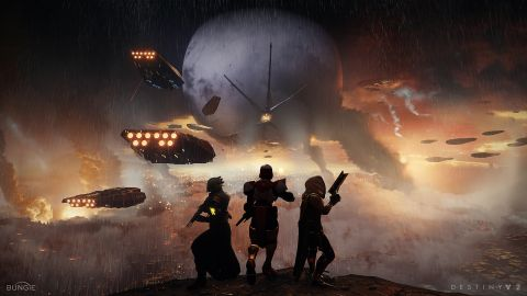 It's War in the Destiny 2 Launch Trailer