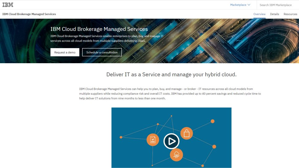 IBM Cloud Brokerage Managed Services - Broker managed cloud services from multiple suppliers