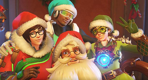 Overwatch Christmas skins revealed: Santa Torbjörn!   PC Gamer