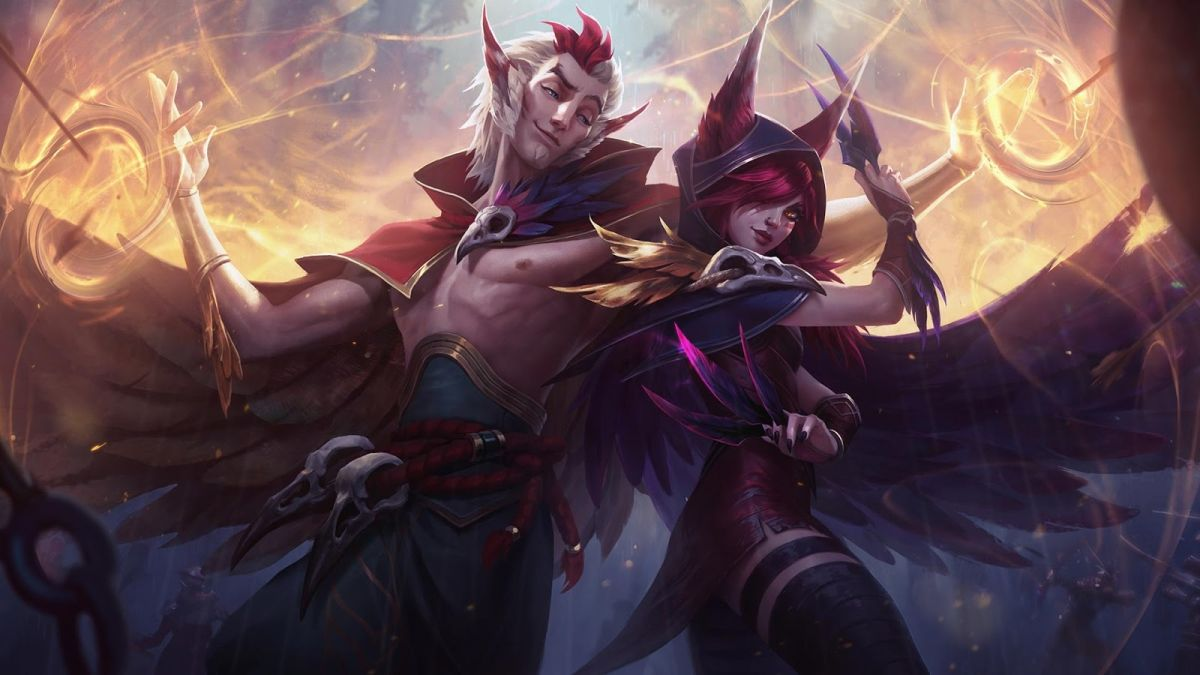 Rakan and Xayah are League of Legends' two new champions