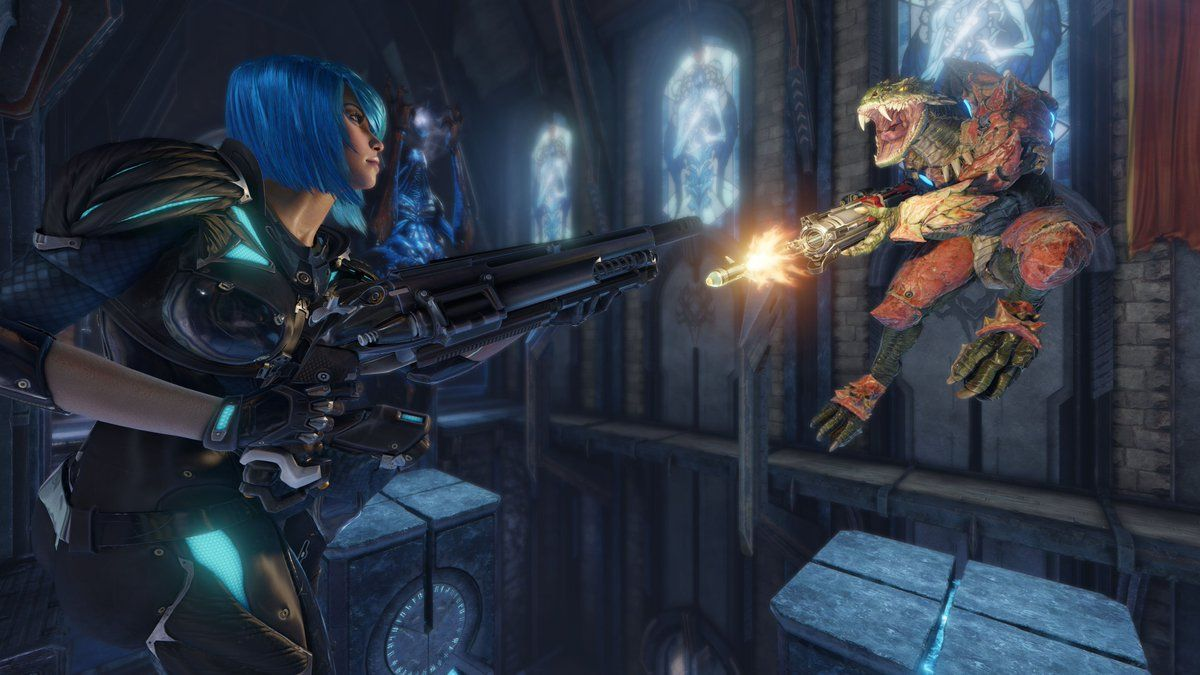 Quake Champions beta test opens up to everyone later this week