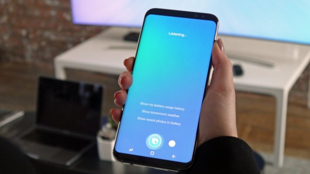 Samsung begins rollout of Bixby for Galaxy S8 users in South Korea