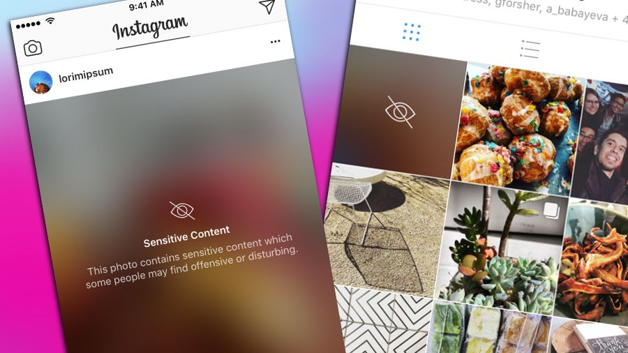 Instagram's Newest Filter Blurs Offensive or Disturbing Content