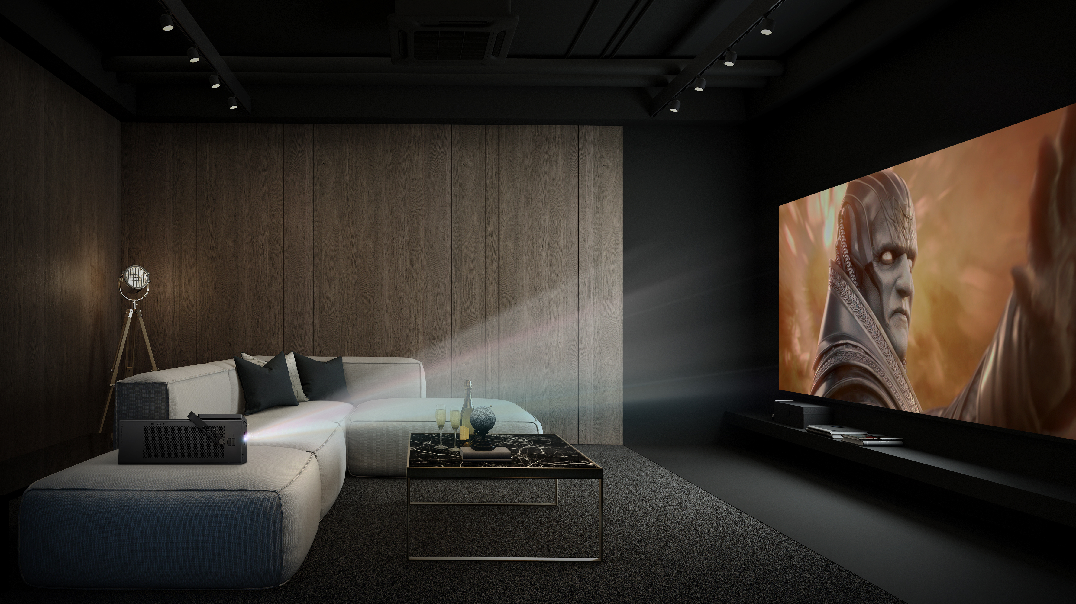 If you are looking for your first 4K projector, LG's award