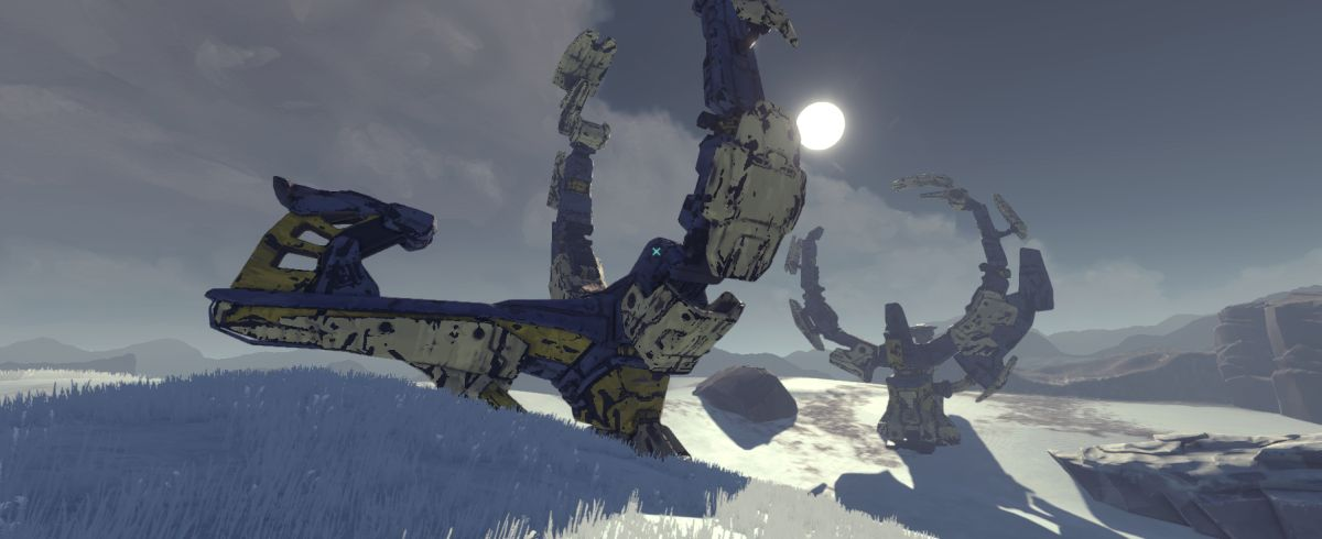 The Signal from Tölva is getting a free, snowy expansion later this year