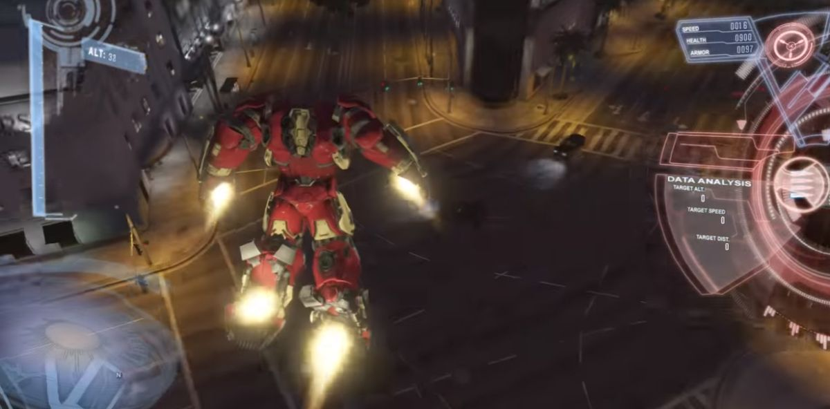 GTA 5 Iron Man script mod launches awesome Version 2 0