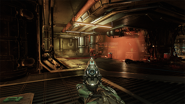 Doom update adds old-school gun placement later this week | PC Gamer
