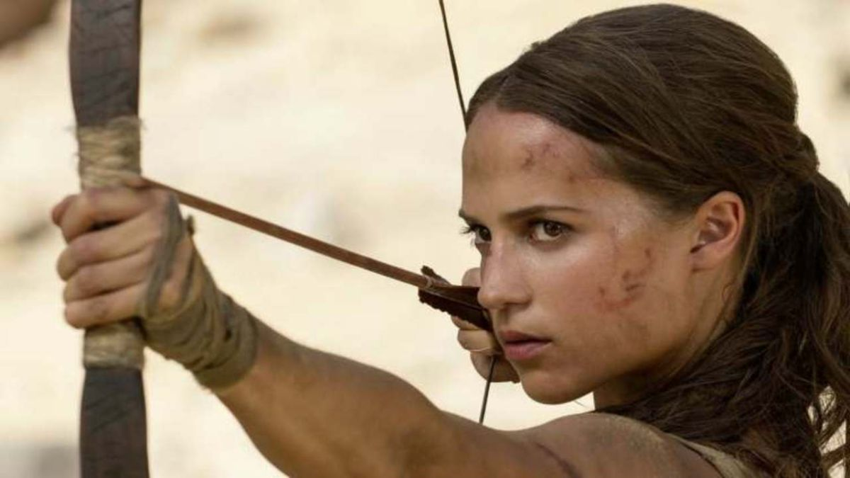 Take aim at these exclusive new images of Alicia Vikander in the Tomb Raider movie