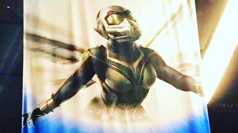 The Wasp revealed in Ant-Man 2 concept art