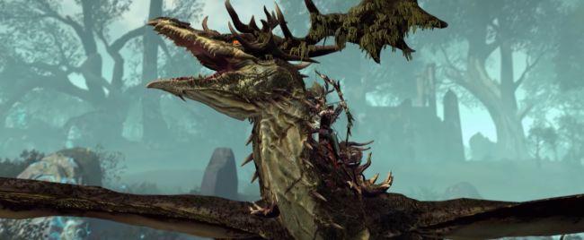 лесной дракон эльфов