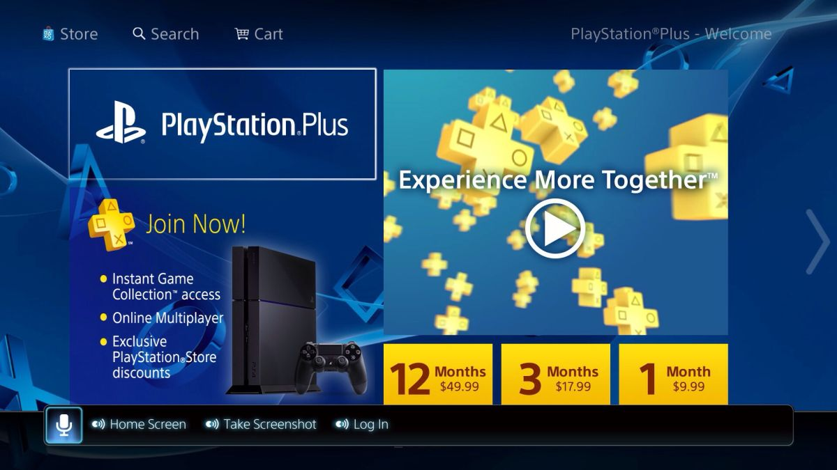 Get Off The Playstation 3 : Save a chunk off of one year playstation plus today