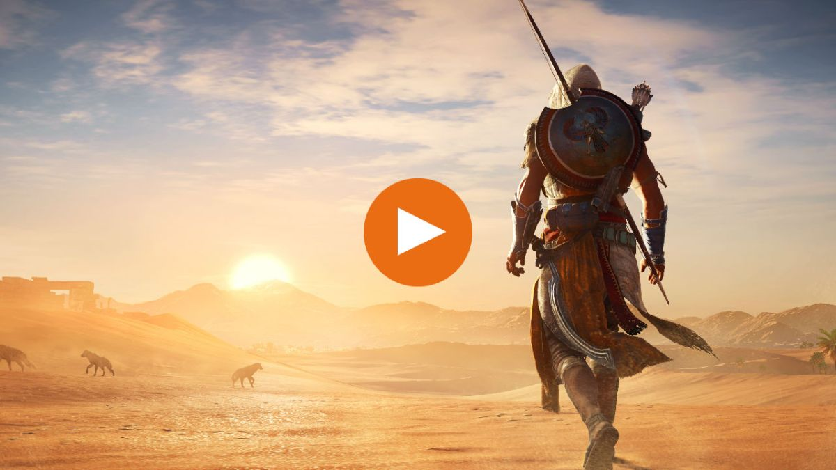 Watch Assassin's Creed Origins' Bayek solve a brutal murder mystery