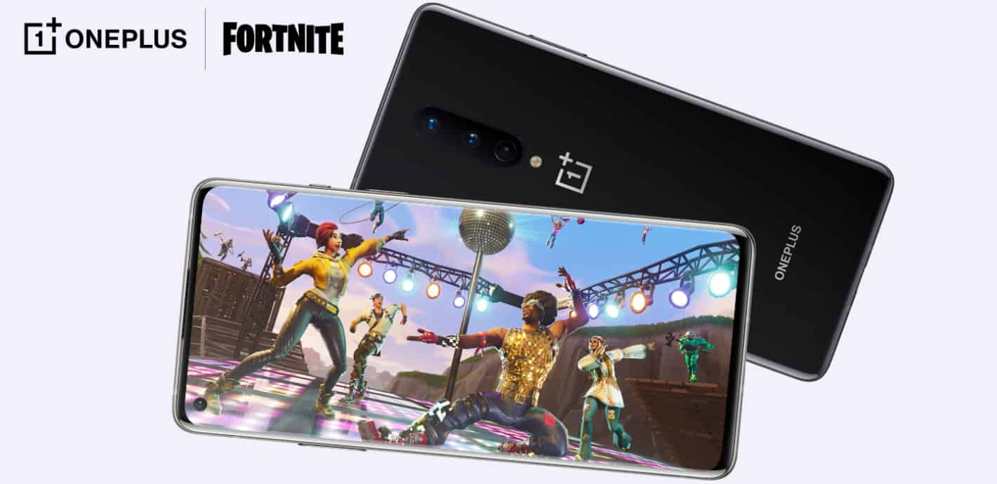 Play Fortnite on the OnePlus 8 - at 90 frames per second