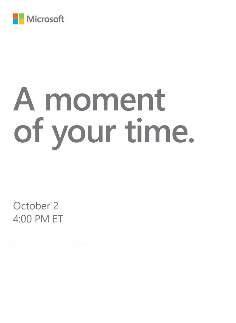 Microsoft teases October 2 press event  new Surface hardware incoming XNJFTwKyuhhBhFmCi5zX