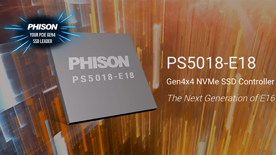 SSDs Based on Phison's PS5018-E18 Controller to Hit 7.4 GB/s Sequential Read Speed thumbnail