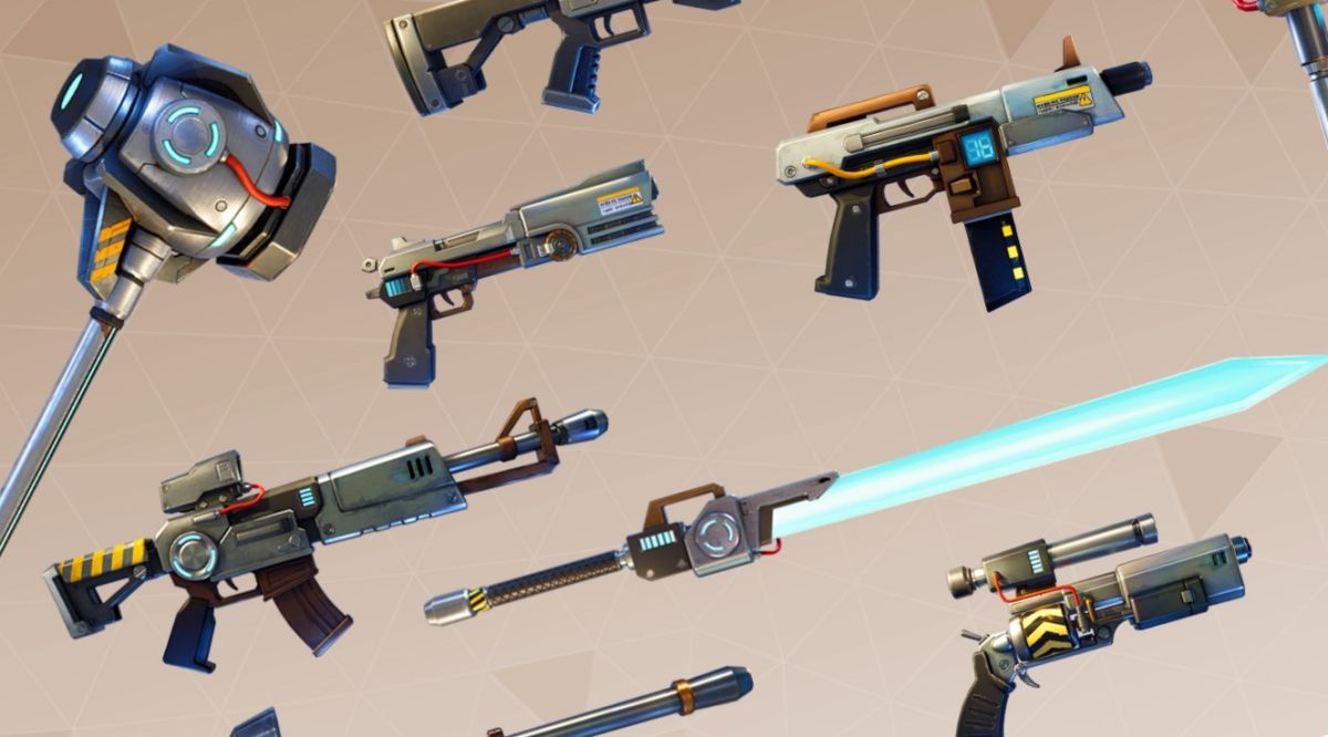 A New Fortnite Update Adds Weapons Smoke Grenades And