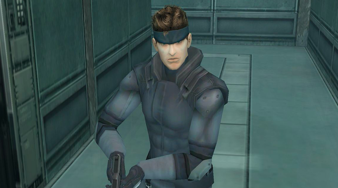 Classic Snake Game In Metal Gear Solid, S...