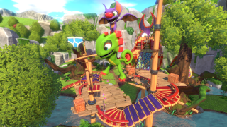 The early hours of Yooka Laylee are a throwback to a simpler time and don t do much to push 3D platformers forward