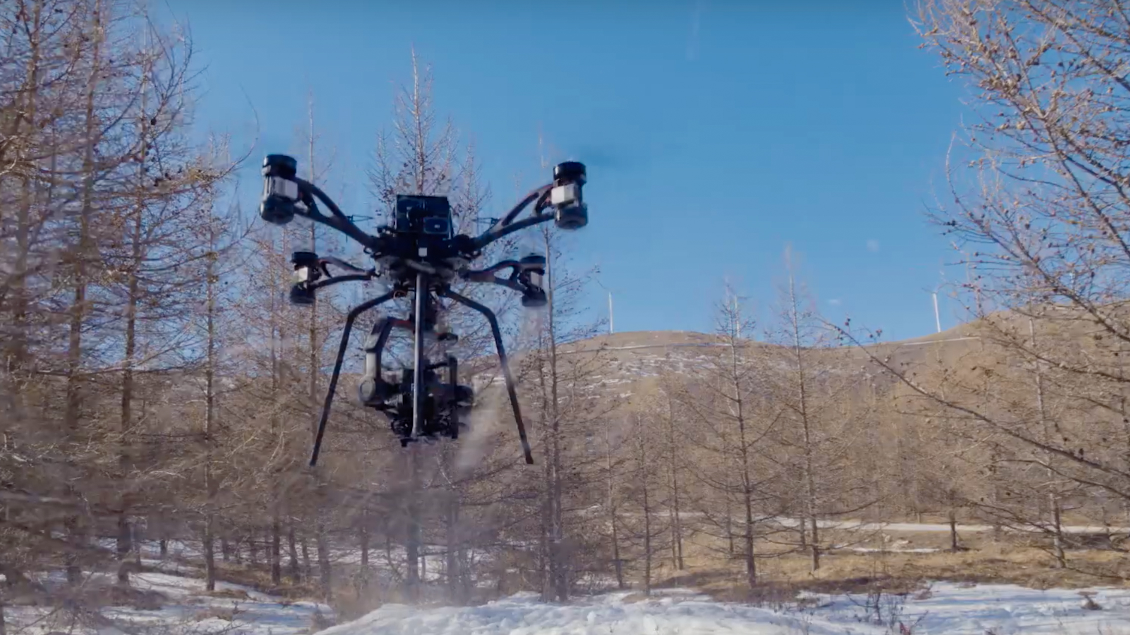 DJI unveils STORM cinematography drone, but you can't buy it