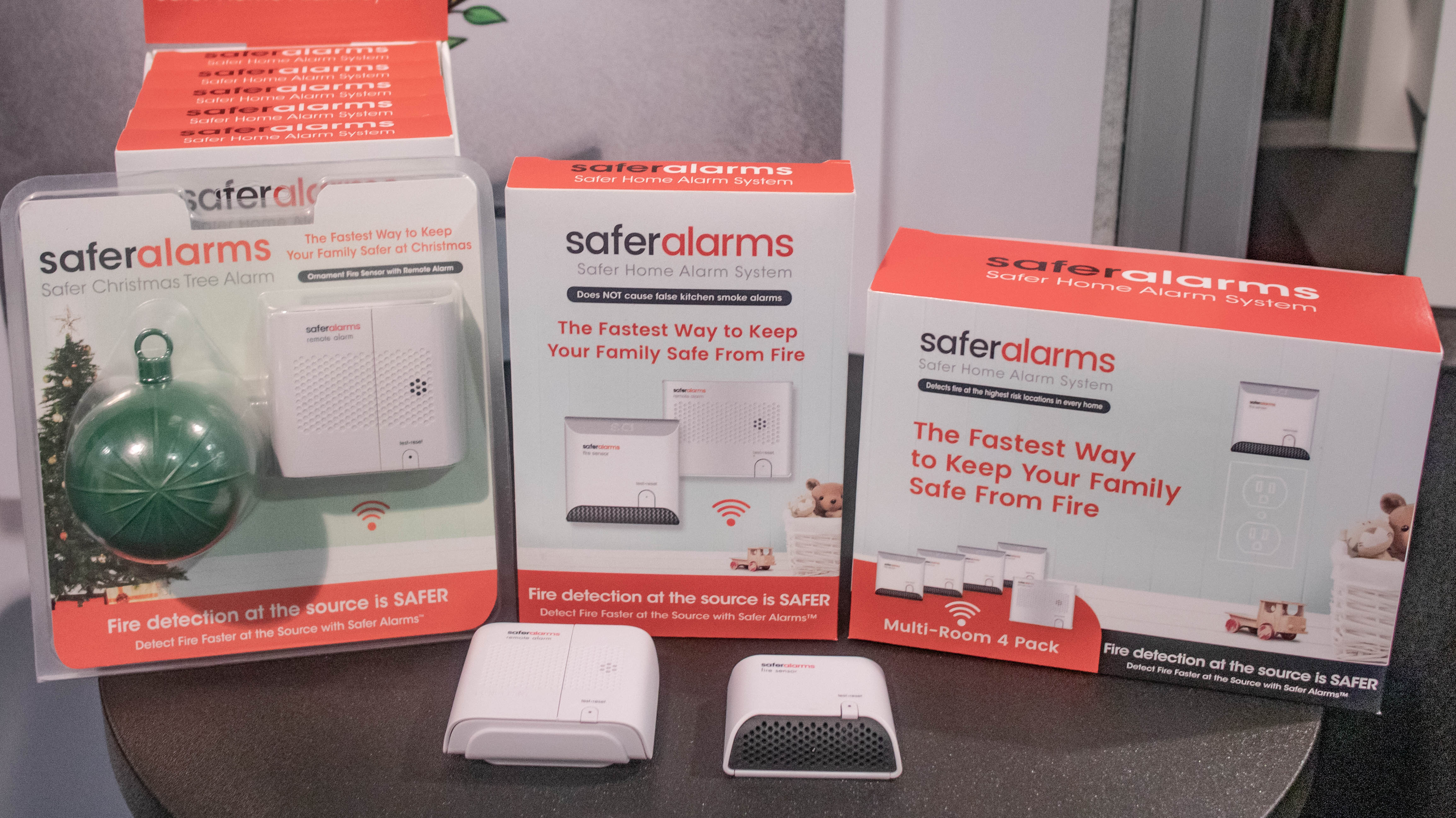 At CES 2019, the CEO behind this life-saving fire detector is willing to sell to Apple, Google or Amazon