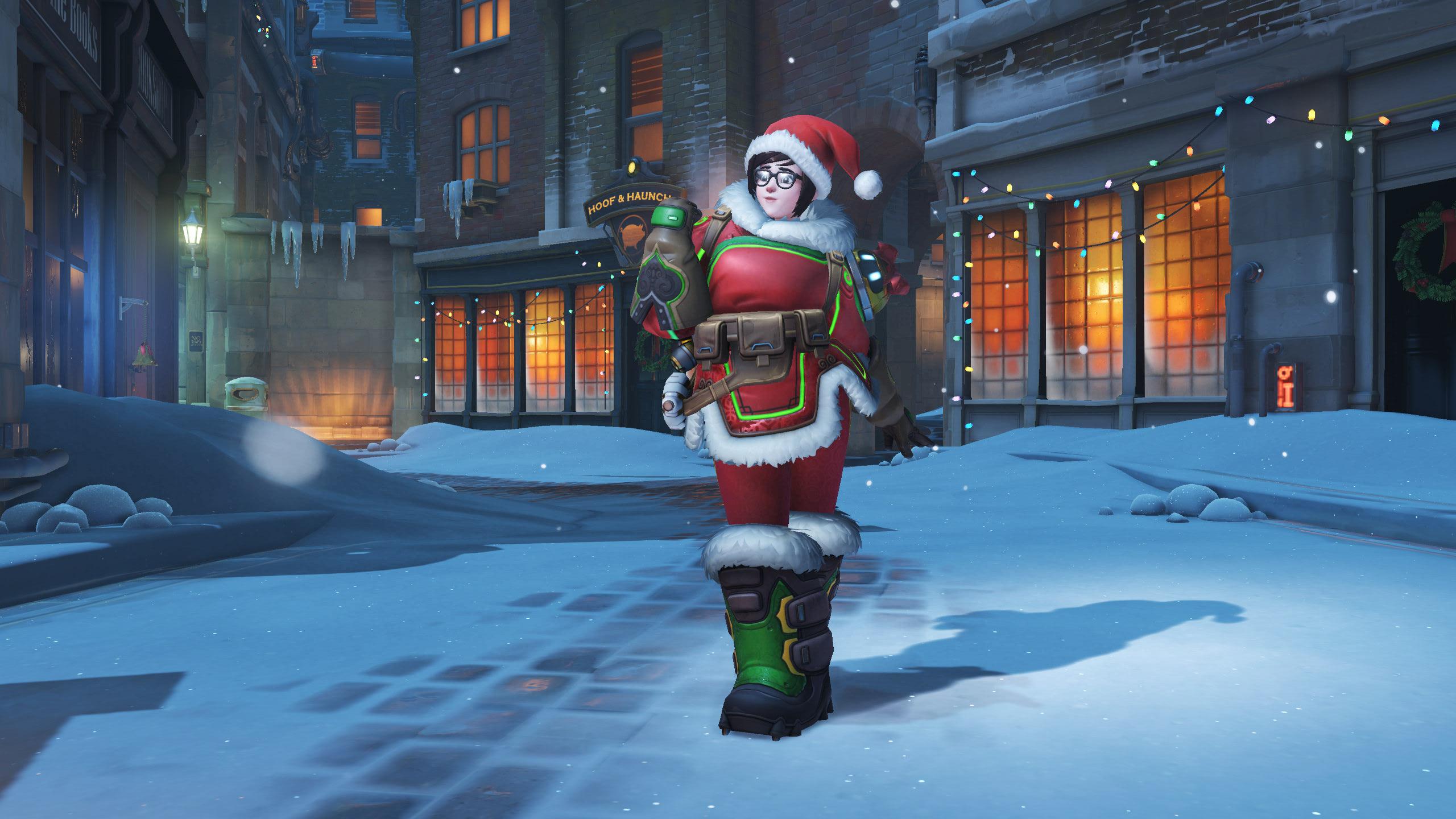 Overwatch Christmas skins revealed: Santa Torbjörn! | PC Gamer