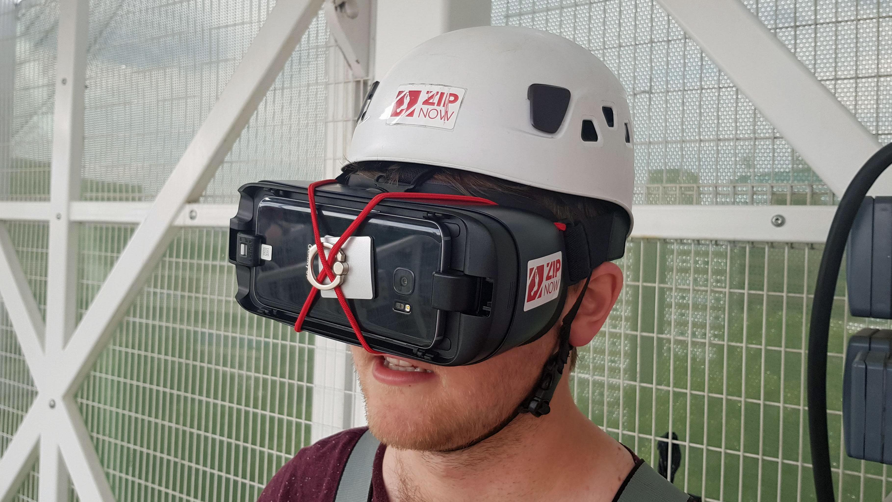 I rode half of the world\'s longest zipline in virtual reality